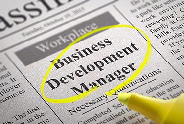 Business Development <br> Manager